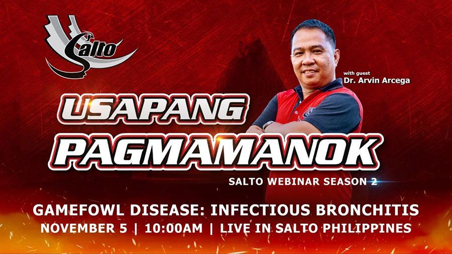 Gamefowl Disease: Infectious Bronchitis